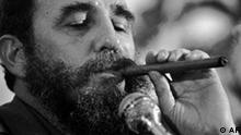 Cuban President Fidel Castro enjoys a cigar in 1978 before he gave up smoking stogies. The Cohiba cigar turns 30 Friday, Feb. 28, 1997, and a big party in Havana is planned. The cigar was the first created under a Communist Cuba and is one of the most popular smokes today. (AP Photo/Phil Sandlin)