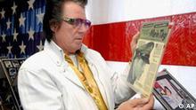Deutschland USA Musik Elvis Presley Ausstellung in Friedberg