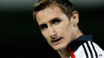 Miroslav Klose (AP Photo/Christof Stache)