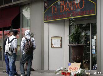На месте происшествия - ресторан-пиццерия ''Да Бруно''