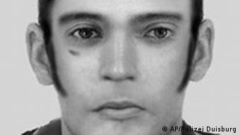 Deutschland Duisburg Mord Italiener Täter Phantombild
