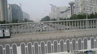 Fahrverbot in Peking - Fliessender Verkehr