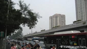 Fahrverbot in Peking - Kreuzung normal