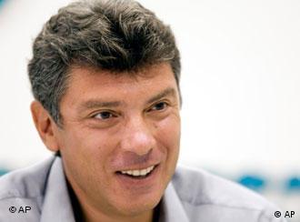 Один из лидеров СПС Борис Немцов
