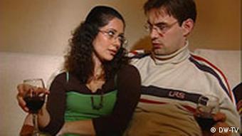 یکی از چهرههای سریال ایرانی است: راشین. در عکس او را با شوهرش توماس میبینیم.