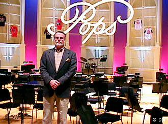 I am at home here, Erich Kunzel in Cincinnati Music Hall.