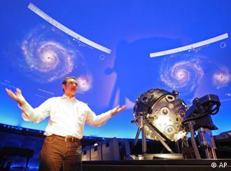 Samuel Widmann von Google während der Präsentation von Sky, Quelle: AP