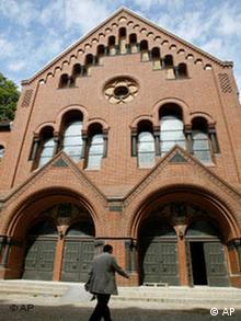 Deutschland Juden Synagoge wiedereröffnet in der Rykestraße in Berlin