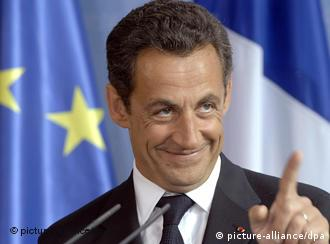Sarkozy: el que no apuesta no gana.