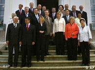 El gabinete del Gobierno alemán