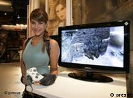 Karima Adebibe, modelo oficial del juego Lara Croft.