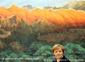 Канцлер Германии Ангела Меркель в Китае (фото из архива)