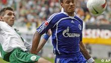 Fussball Bundesliga VfL Wolfsburg Schalke 04