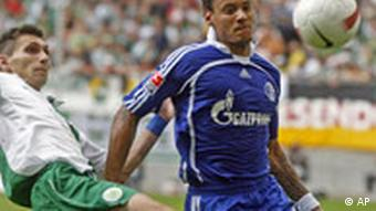 der Schalker Jermaine Jones - AP