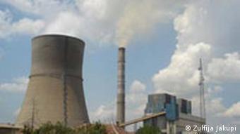 Kraftwerk im Kosovo (Juni 2007, Quelle: DW)