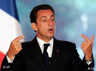 Frankreichs Präsident Nicolas Sarkozy (Archivbild, AP)