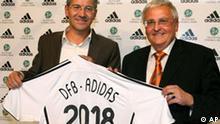 Deutschland Fußball ADIDAS Sponsor bei DFB bis 2018