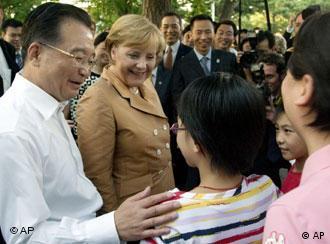 2007年8月27日,两国总理在北京