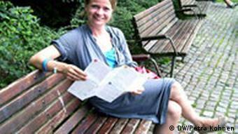 La jeune artiste danoise Johanne Lögstrup