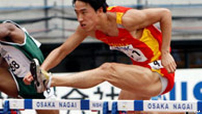 Japan China Leichtathletik WM in Osaka Liu Xiang