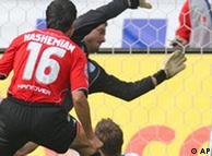 El gol de Vahid Hashemian.