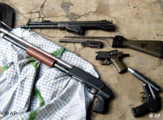 德国仍然有约1000万合法枪支