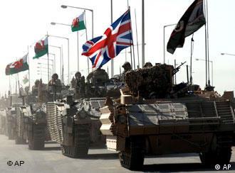 British tanks in Iraq