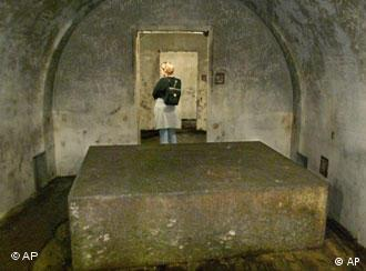 The Nazi-era bunker system in Obersalzberg