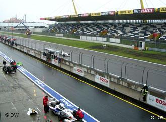 The Grand Prix race track