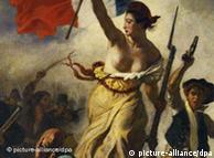 Eugène Delacroix, recorte de