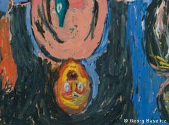 Георг Базелиц. Ночная трапеза в Дрездене