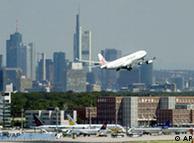 El aeropuerto de Frankfurt, uno de los objetivos de los terroristas.