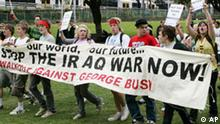 Australien APEC Demonstration gegen George Bush USA