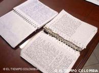 Los diarios de Tanja Neijmeijer abandonados en la selva colombiana.
