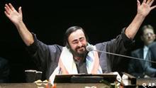 Italien Opera Musik Luciano Pavarotti gestorben letzter Konzert in Stuttgart