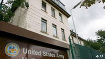 US military base at Hanau