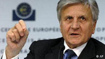ECB chief Jean-Claude Trichet