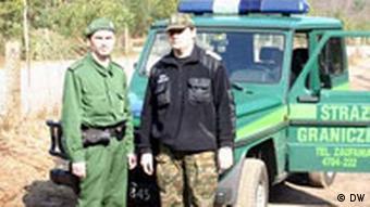 Deutschland Polen Grenzschutz / Polizei Schengen