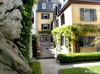 Casa natal de Beethoven en Bonn.
