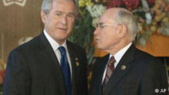 APEC, Australien, John Howard mit George W. Bush