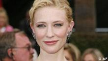 ** FILE ** Australian actress Cate Blanchett arrives for the 79th Academy Awards in this Feb. 25, 2007, file photo in Los Angeles. Blanchett is in negotiations to star opposite Harrison Ford in the long-awaited fourth installment of the Indiana Jones series, her publicist confirmed Saturday, March 17, 2007. (AP Photo/Kevork Djansezian, file)