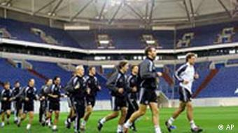 Training in der Arena