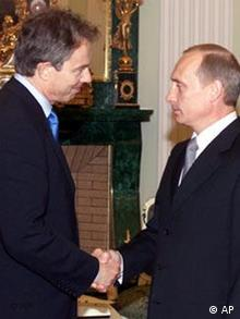 Blair in Moskau