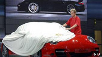 Deutschland Auto IAA Internationale Automobil Ausstellung 2007 Vorbereitung