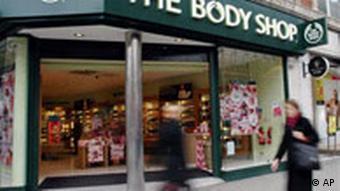 Ein Body Shop-Geschäft in London, Quelle: AP
