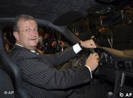 Wendelin Wiedeking, presidente del fabricante automotriz Porsche, se considera un empresario exitoso.