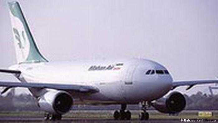 Flugzeug der iranischen Fluggesellschaft Mahan