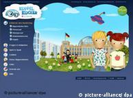Фрагмент детского интернет-портала бундестага