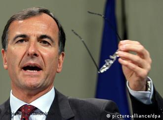 Franco Frattini, the soon-to-be ex-Commissioner for Security and Home affairs