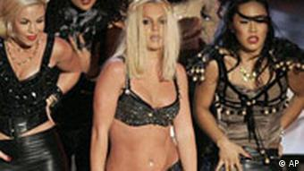 Britney Spears at the US award